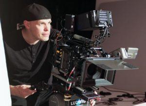 Robert Toebbe on set